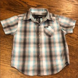 Hurley Infant Boys Button Up Top